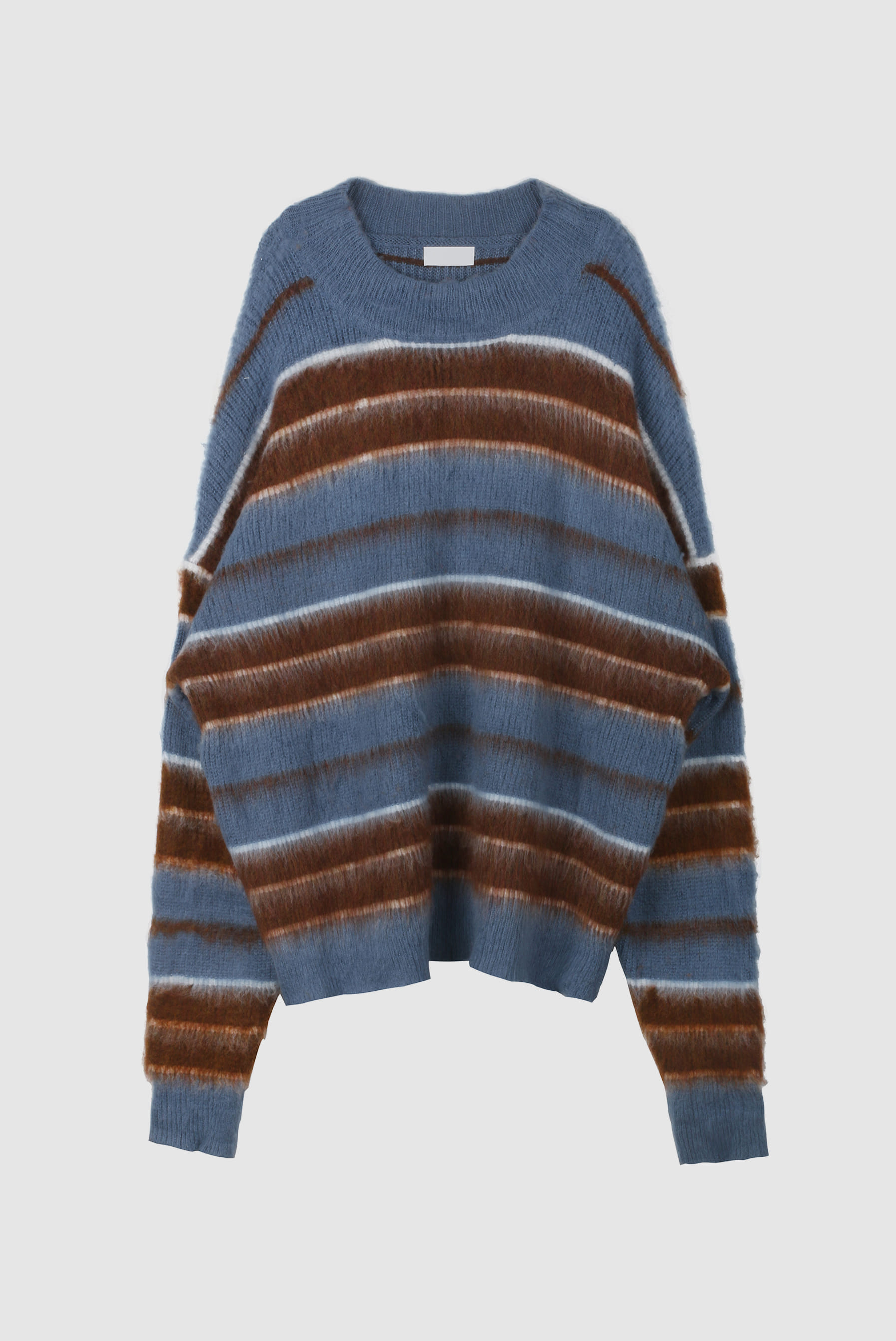 Two_Tone Overfit Stripe Knitwear