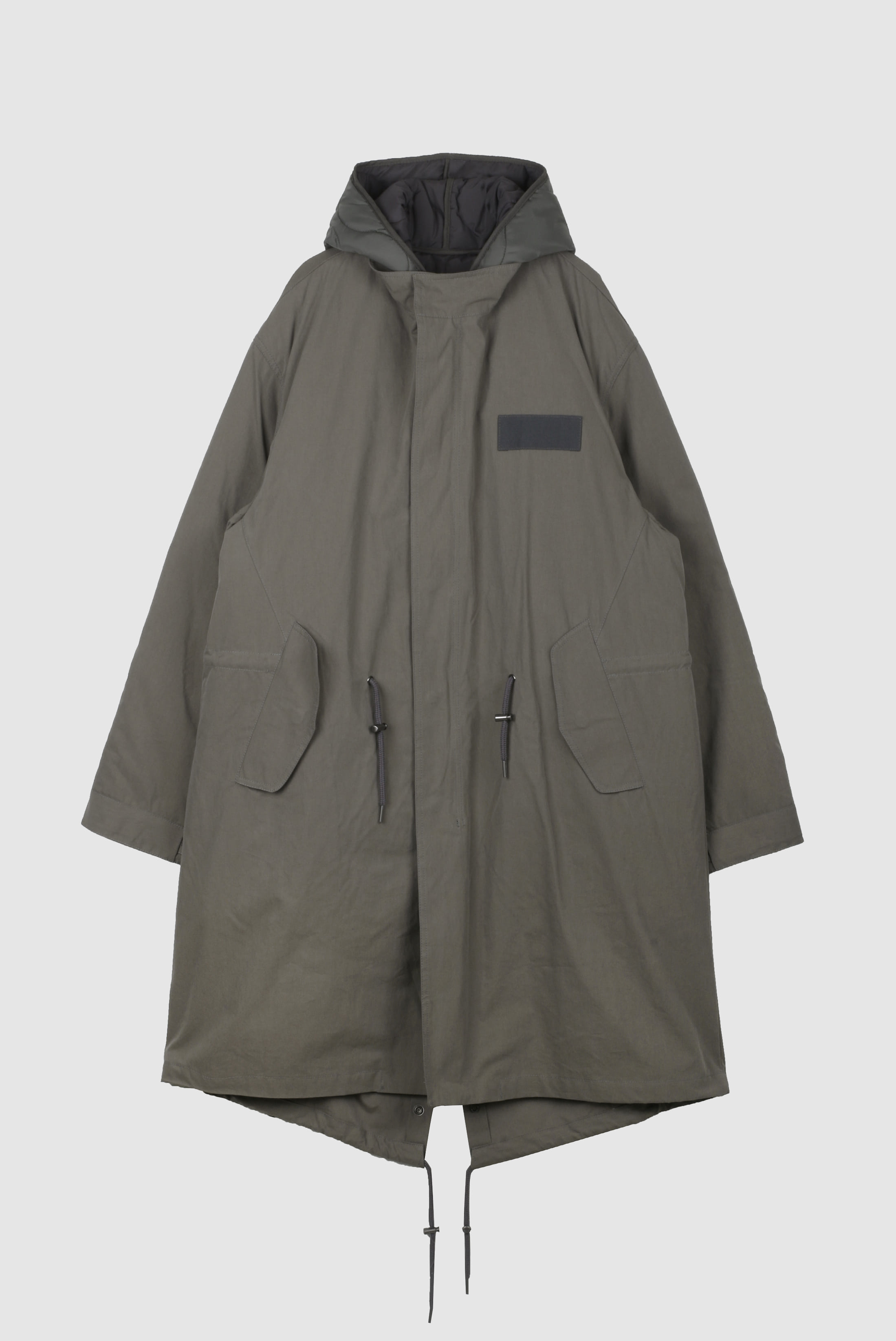 Nubim_Hood Long Field_Jacket