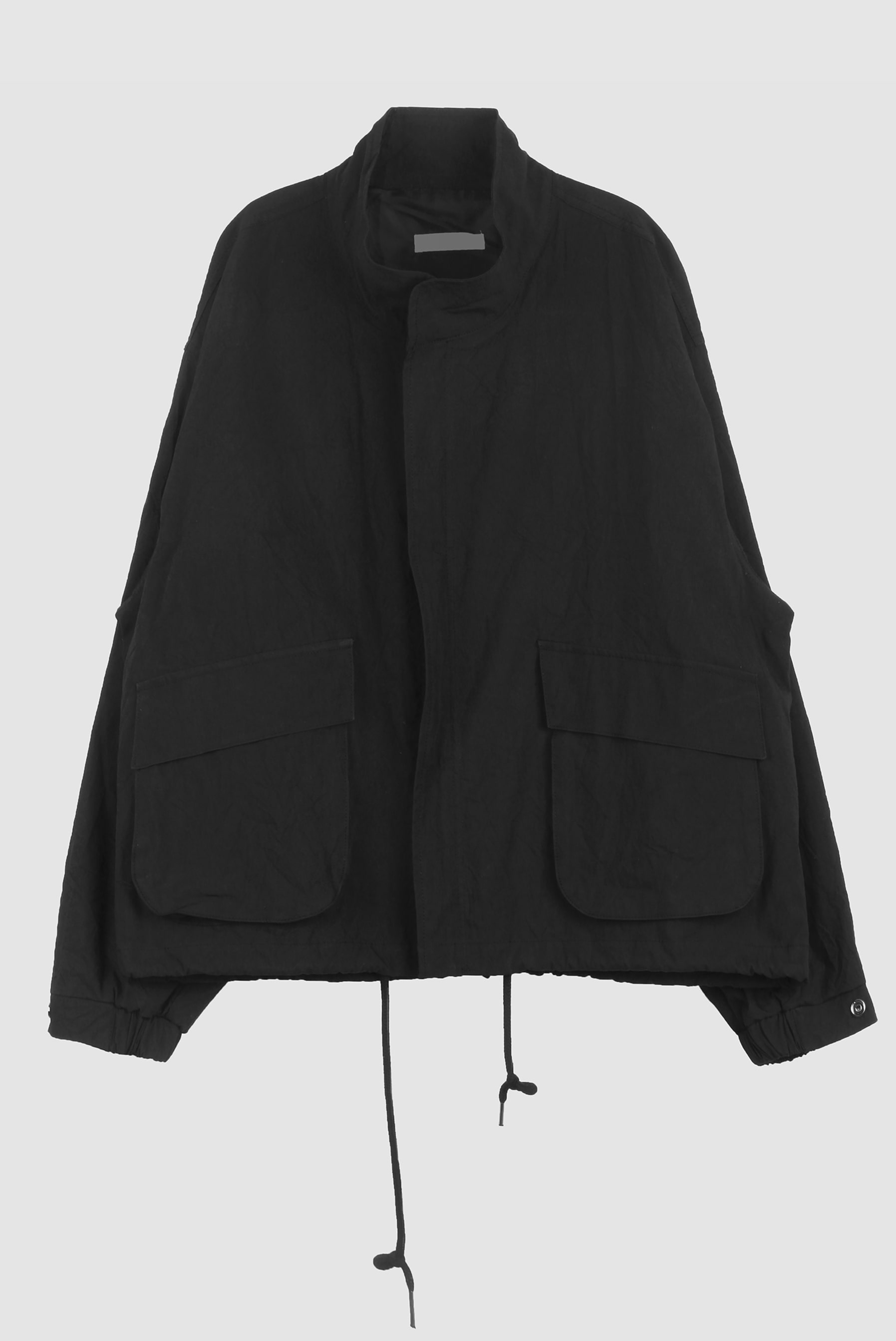 Wrinkle_Nylon Crop_Jacket