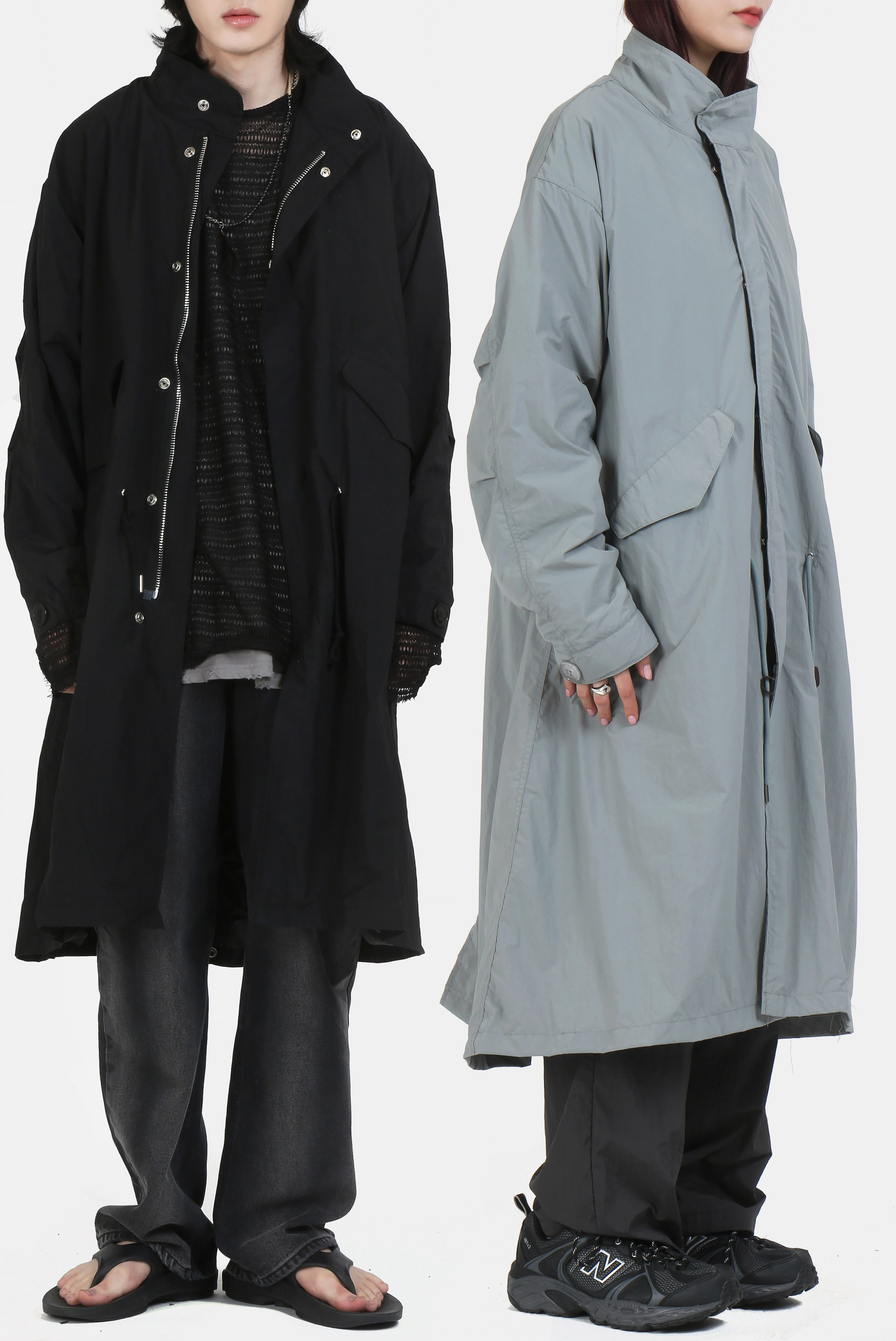 Nylon_Formal Field Long_Jacket