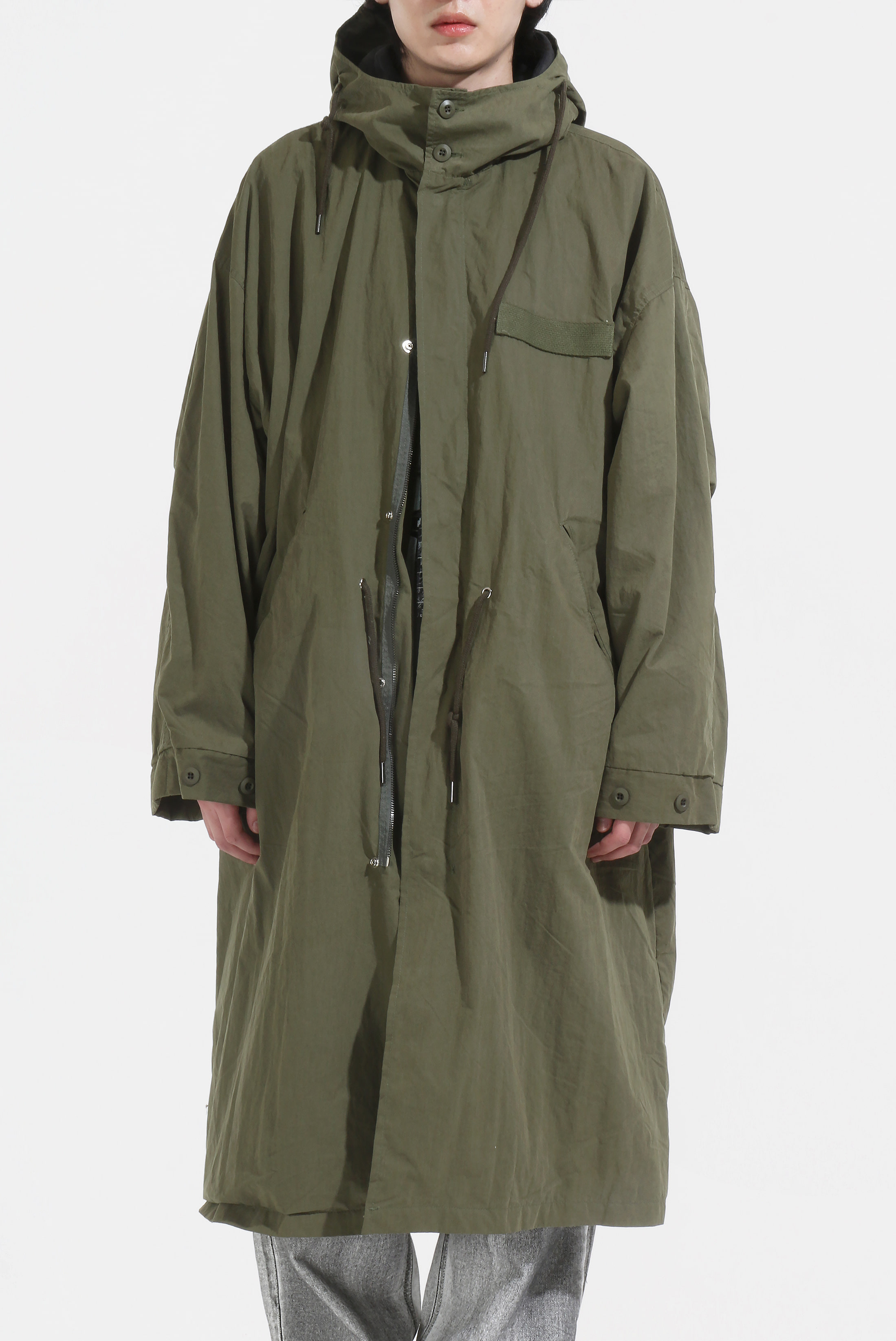 Moz Hood Field Long_Jacket