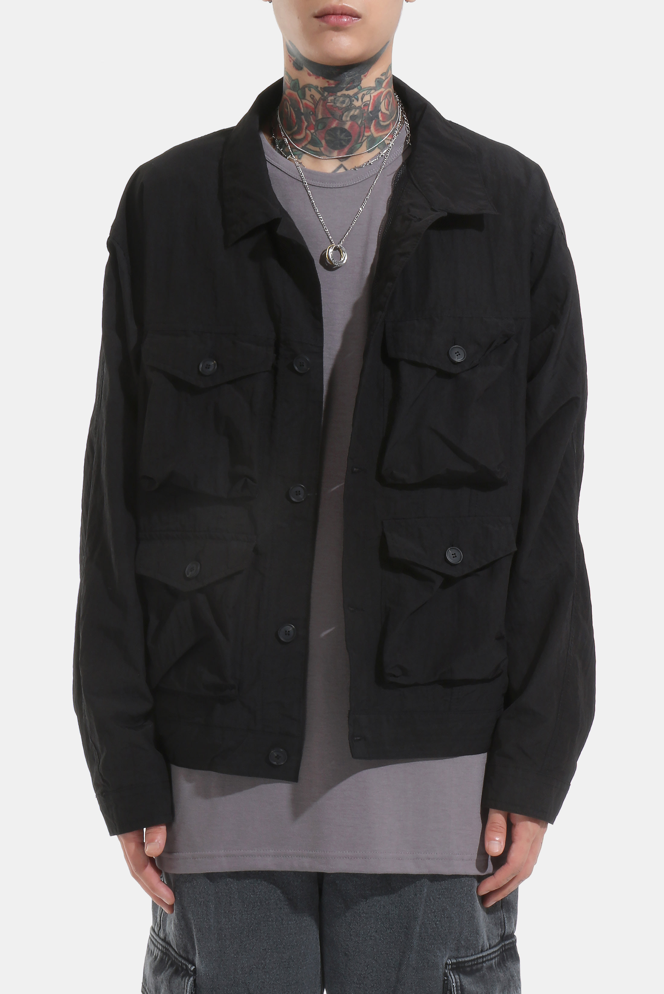 Multi_Poket Frame Jacket