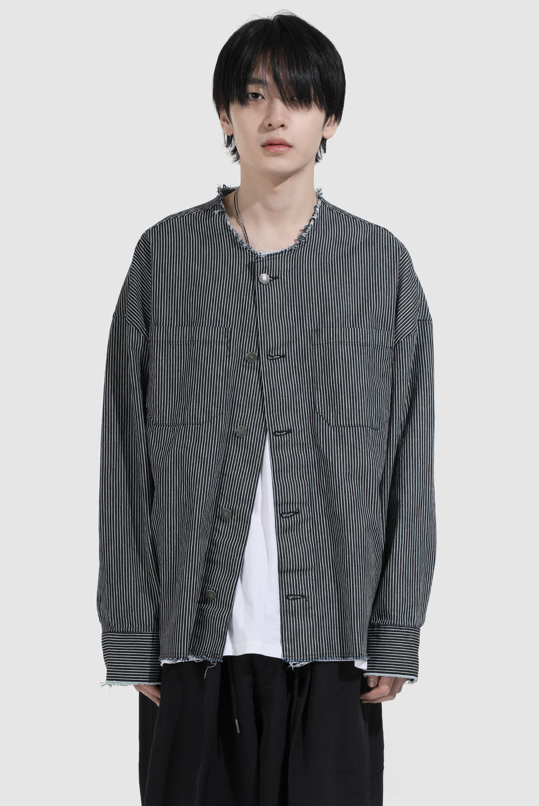 Edge_Cutting Denim Jacket