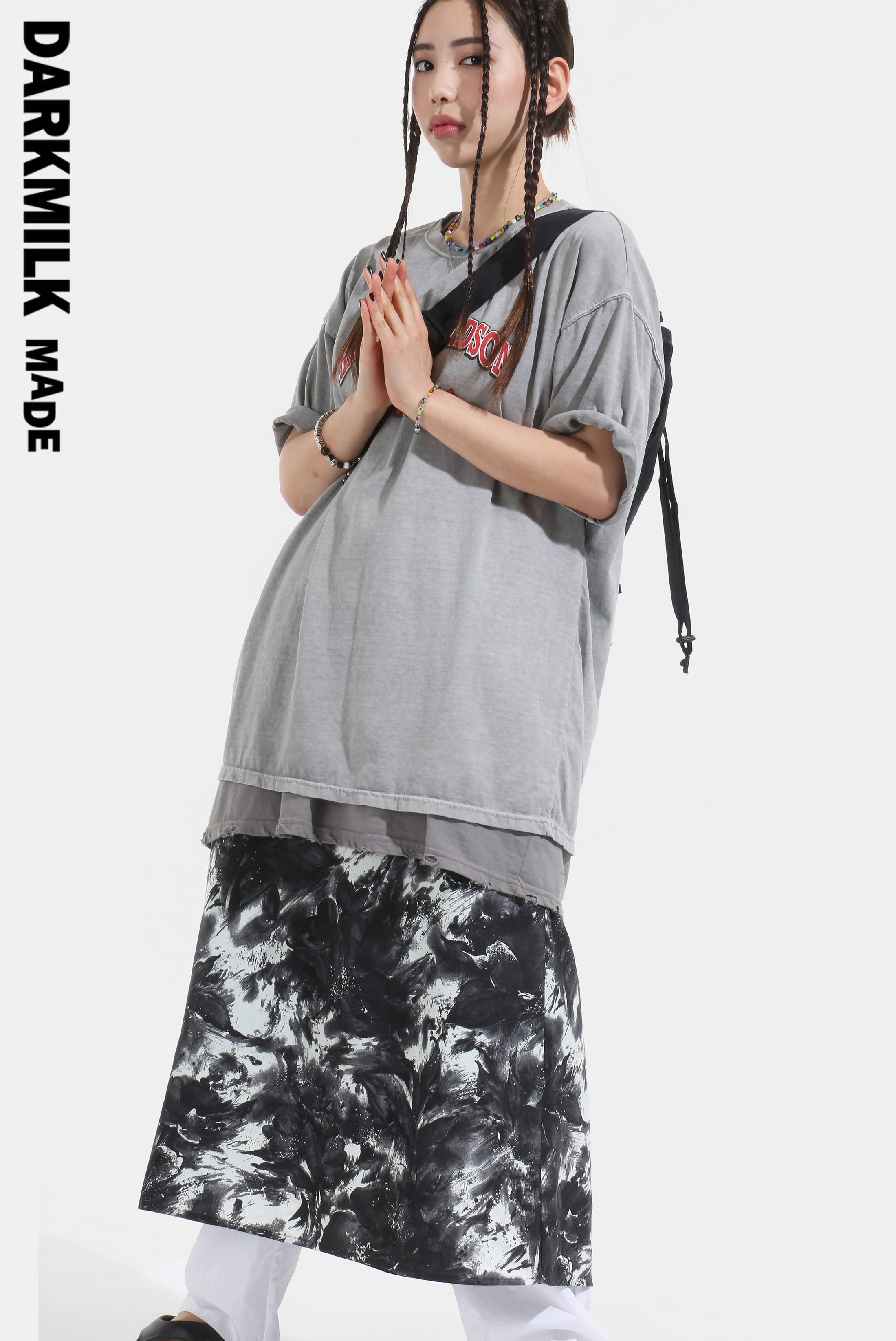 [MADE] Painting_Brush Long Skirt [SALE 20%]