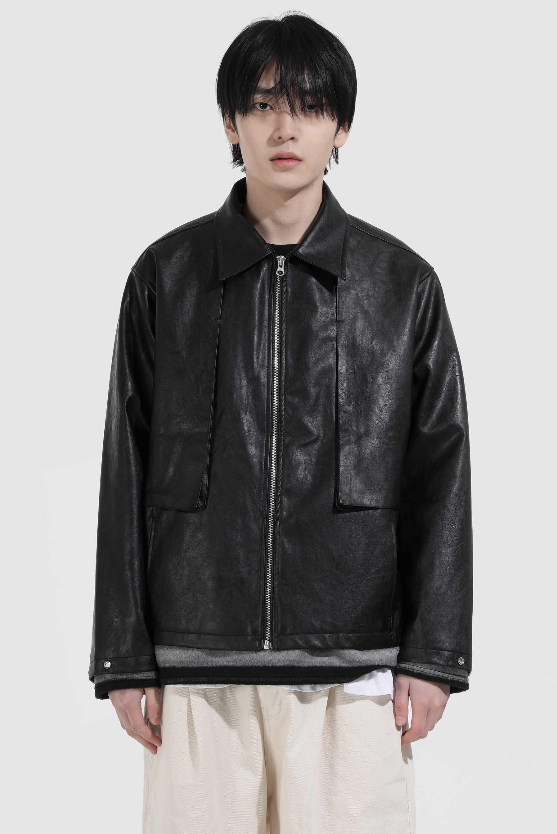 Drizzle_Leather Jacket